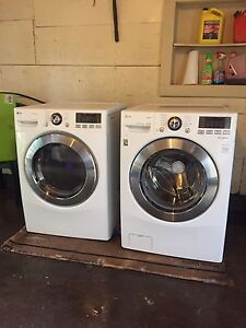 LG HE Front load Washer & Dryer with Turbowash & True-steam