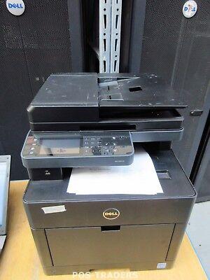 Dell S2825cdn A4 Color MFP AIO USB LAN Laser 28ppm Printer Scan Copy 1050 PRINTS Aio Color Laser Drucker