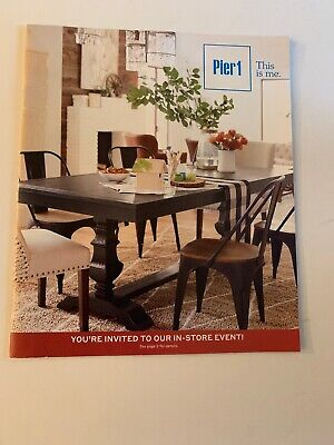 PIER 1 IMPORTS Early Fall/Halloween 2018 Catalog Home Decor 39 Pages NEW - Halloween Decor Catalogs