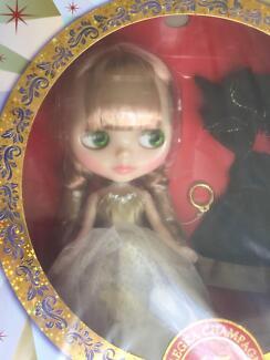 "Takara Tomy 12"" Neo Blythe doll Allegra Champagne 15 Anniversary"