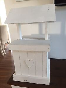 White wood wishing well Panania Bankstown Area Preview