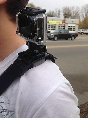 Tracolla Imbracatura di Supporto Fotocamera Stabilizzatore per Gopro HD Hero3+