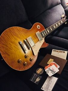 2016 Gibson Les Paul Historic 59 Reissue (MINTY!!)