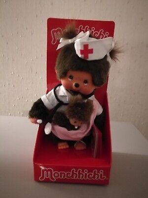 Monchhichi 20cm Nurse w/New Born Baby Girl