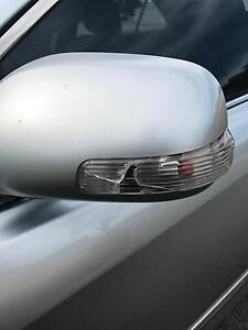 Wanted:Toyota Aurion left side mirror (silver) Langford Gosnells Area Preview
