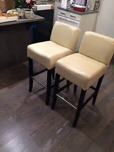 Urban barn stools (4) -white