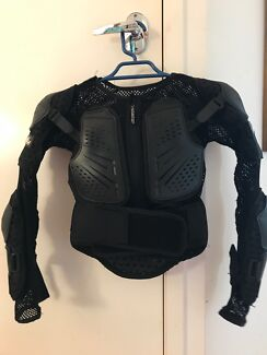 Motocross full body armour .