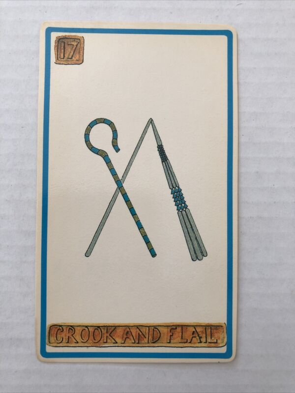 Cartouche Crook And Flail Card 17 Single Card Only No Box