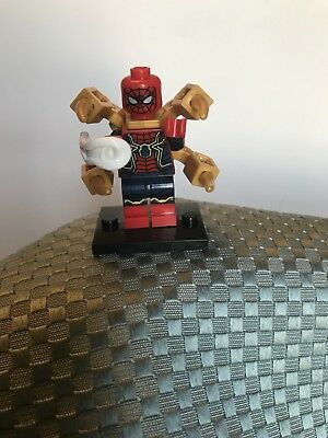 New Custom LEGO Minifigure Marvel Infinity Wars Superhero Spider-Man - Spiderman Customes