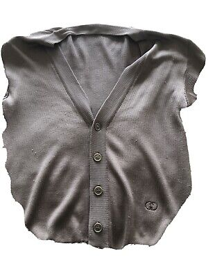 Vintage Gucci Men's sweater , Brown, Silk, 48