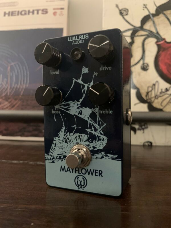 Walrus Audio Mayflower Overdrive Discontinued Great Shape!