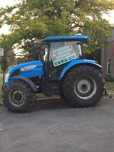 Recherche chauffeur tracteur de neige et loader
