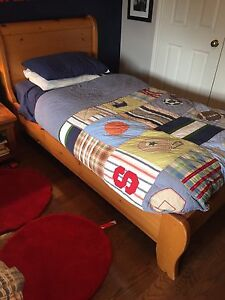 Two youth beds for sale - solid wood and great condition