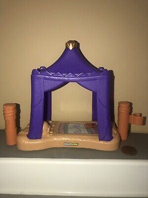 Fisher Price Little People Nativity Wise Men Purple Tent