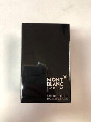 Emblem Mont Blanc for Men Eau de Toilette 3.3 oz 100 ml spray Brand New