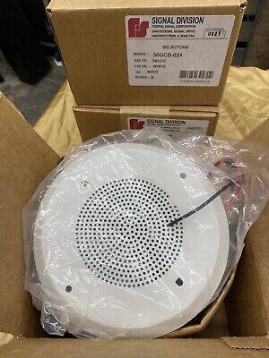 Federal Signal 50gcb-024 Selectone Speaker Amplifer New See Description For Spec