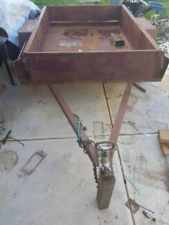 Trailer Tow Shoe Box Single axle