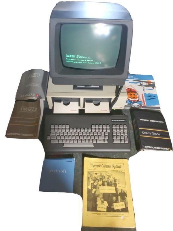 Morrow Designs Liberty BT1200A-1 Vintage 1983 Computer Complete