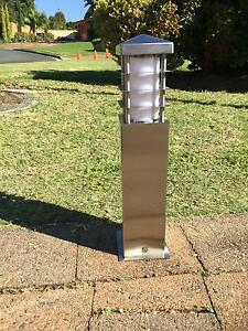 9 x 240 volt outdoor stainless steel garden lamps Castle Hill The Hills District Preview