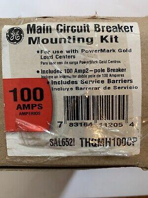 New Ge Powermark Gold Load Center 100 Amp Double-pole Main Breaker Kit