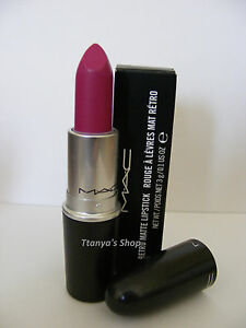 Mac-Lipstick-FLAT-OUT-FABULOUS-Retro-Matte-Collection-100-Authentic