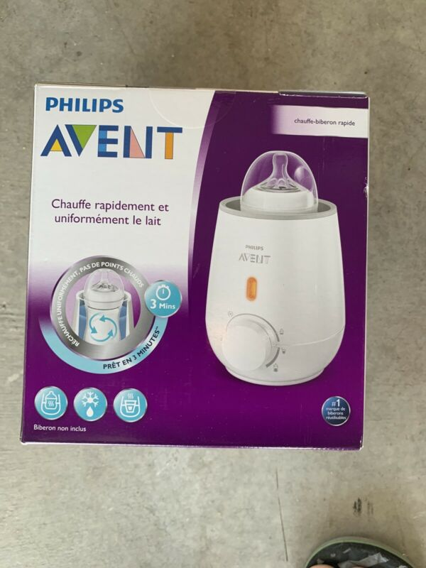 Philips AVENT Fast Bottle Warmer (Never Opened)