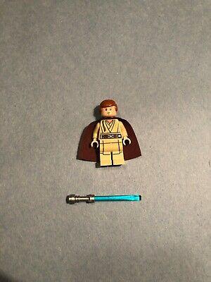 Lego Star Wars Young Obi-Wan Kenobi Minifigure 75058 75092 W/ Lightsaber SW0592
