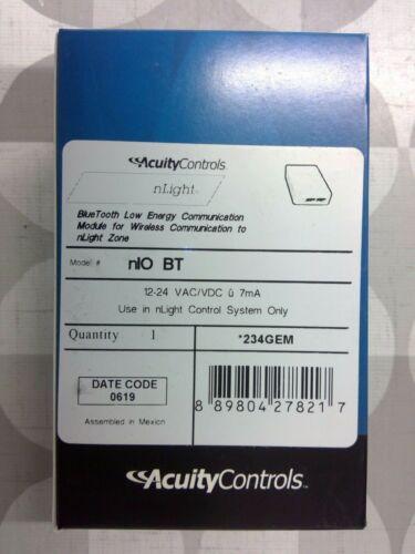 Acuity Controls nIO BT nLight Bluetooth Communication Module **Free Shipping**