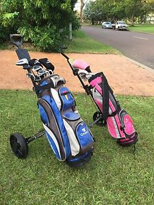 Cougar golf clubs mens and ladies with buggies Fannie Bay Darwin City Preview
