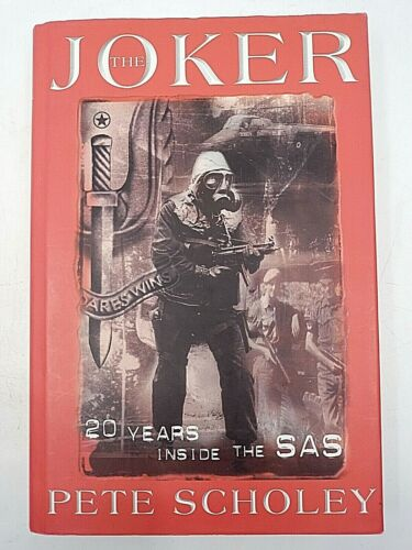 British Special Forces SAS The Joker 20 Years Inside the SAS Reference Book
