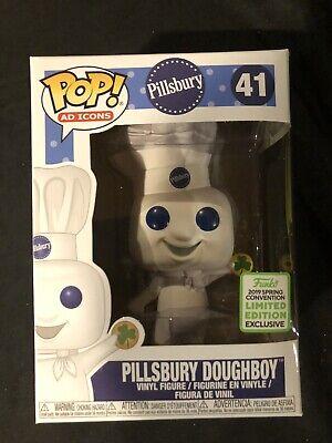 Funko Pop! Ad Icons Pillsbury Doughboy With Shamrock 2019 Spring Convention Ltd