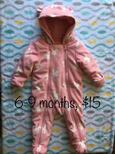 New baby girl clothes 3-9 months