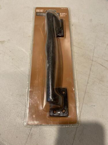 "Perry 7/"" Fleur-De-Leys Door Pull Handles Antique Doors Gates Sheds Black D23"