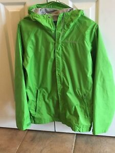 Green Columbia Youth Large / L (14-16) Jacket