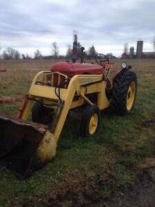 Massey with loader