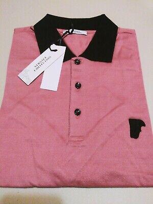 Versace Collection Medusa Men's Short Sleeves Polo Shirt Sz M