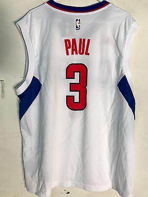 a349c658 Adidas NBA Jersey Los Angeles Clippers Chris Paul White sz L