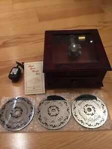 Luxury Reuge Electric Music Box in Perfect Like-new condition