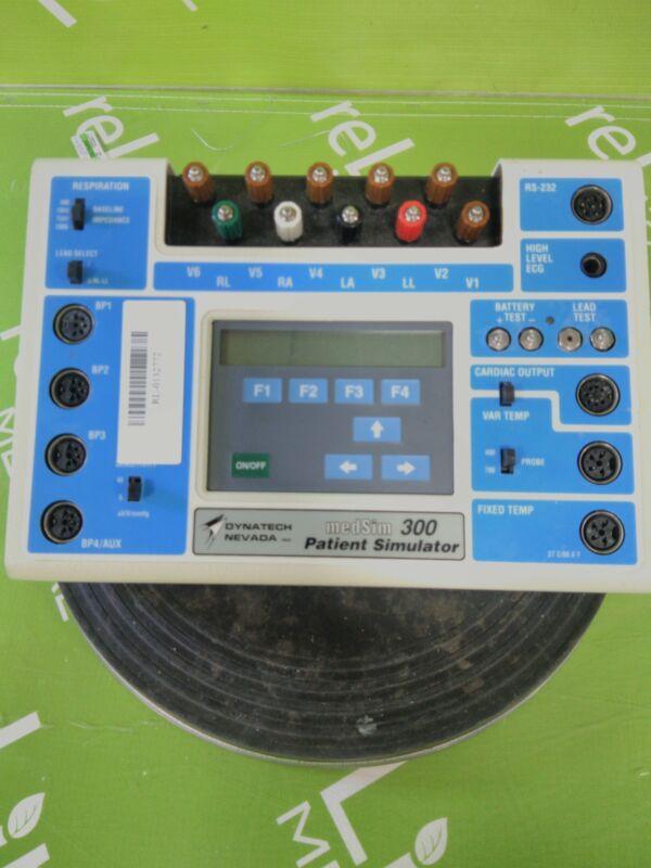 Dynatech DNI Nevada MedSim 300  ECG Simulator ECG Simulator