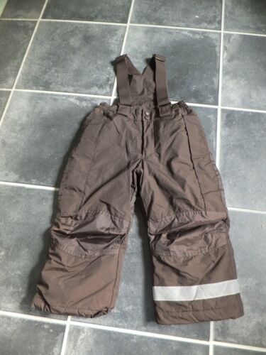 waterproof trousers  with braces age 3-4 years  h&m