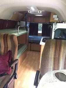 Toyota Coaster Motorhome SWB camper sleeps 4 North Maclean Logan Area Preview