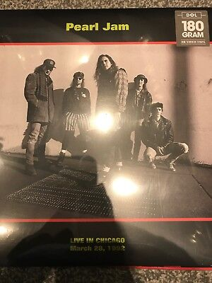 PEARL JAM Live In Chicago, March 28Th, 1992 Dol Records Vinyl Lp -  NEW / SEALED