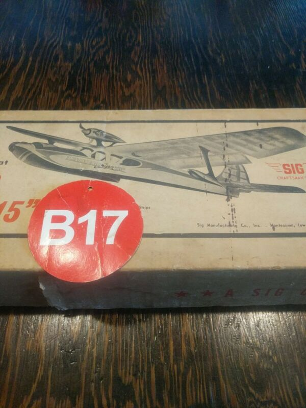 """VINTAGE SIG  AMPHIBIOUS FLYING BOAT PRIVATEER SUPER """"15"""" WS-60"""" RC  KIT"""