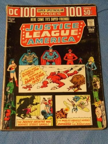 Justice League of America 110    1974