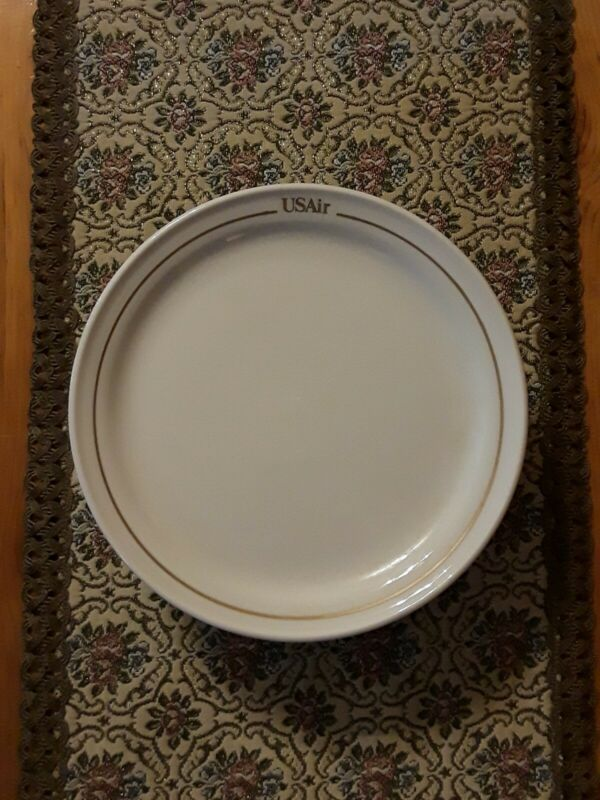 6 USAir US Airways 7.5-inch Dinner Plates ~ Mayer China