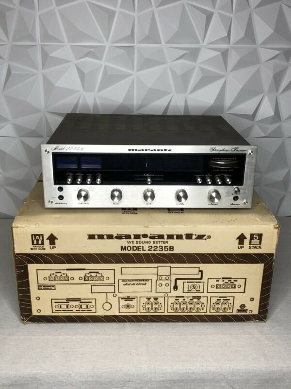 MARANTZ 2235B VINTAGE STEREO  RECEIVER, NICE!!!!! WITH BOX