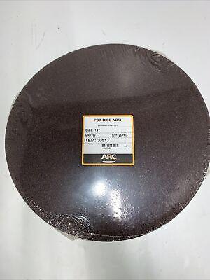 25 Arc Abrasives 12 Aluminum Oxide Psa Sanding Disc 60 Grit
