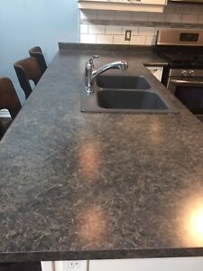 Counter top/sink/faucet