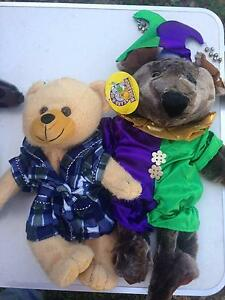 TOY BEARS R US WITH CLOTHING NEW Salt Ash Port Stephens Area Preview