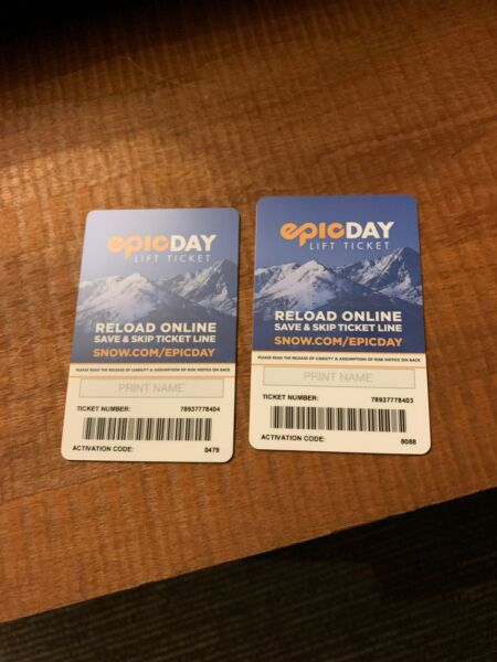 2 passes for whistler and blackcomb for today
